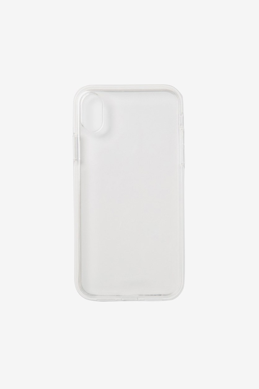 Bumper Clear Case For iphone XR, White
