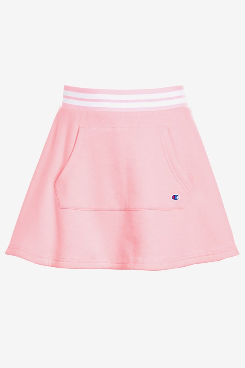 Big Girl's Pocket Skirt, Pink Candy