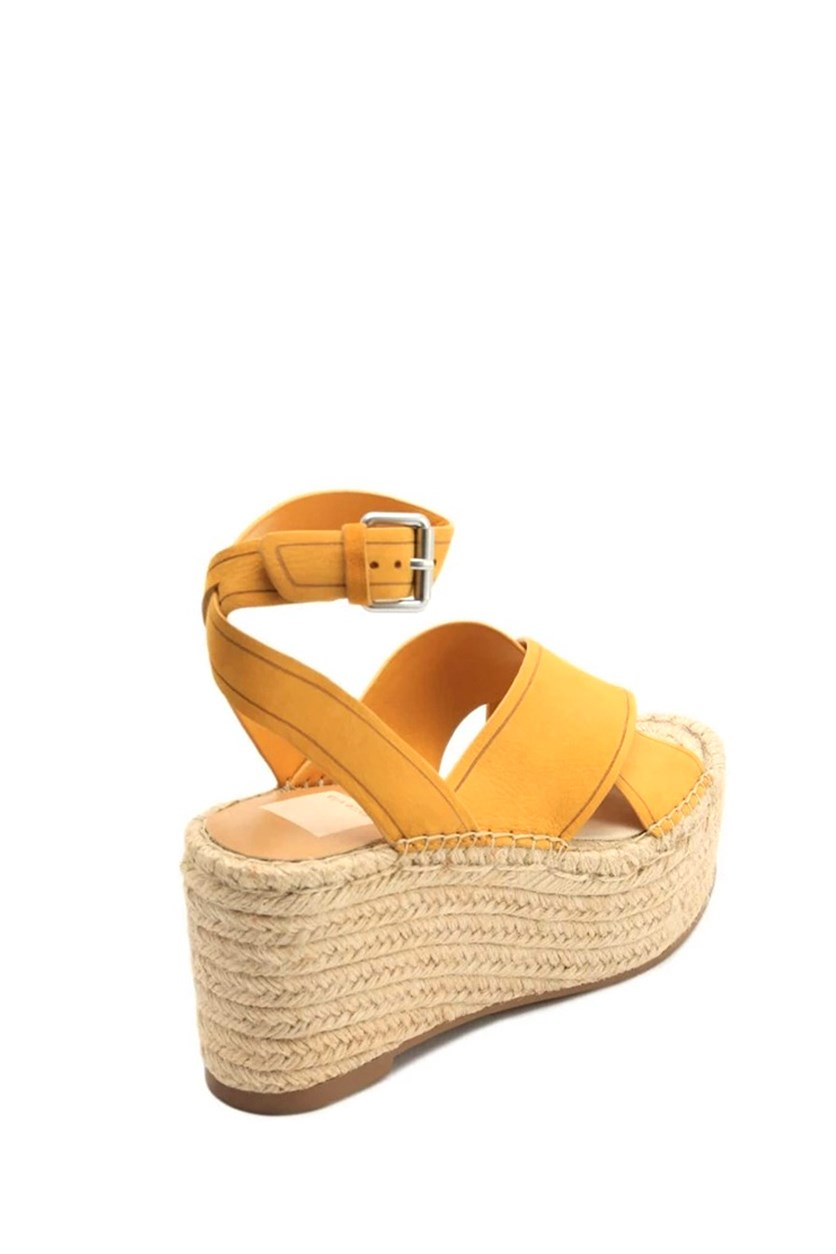 Women's Carsie Platform Espadrille Sandals, Honey Nubuck