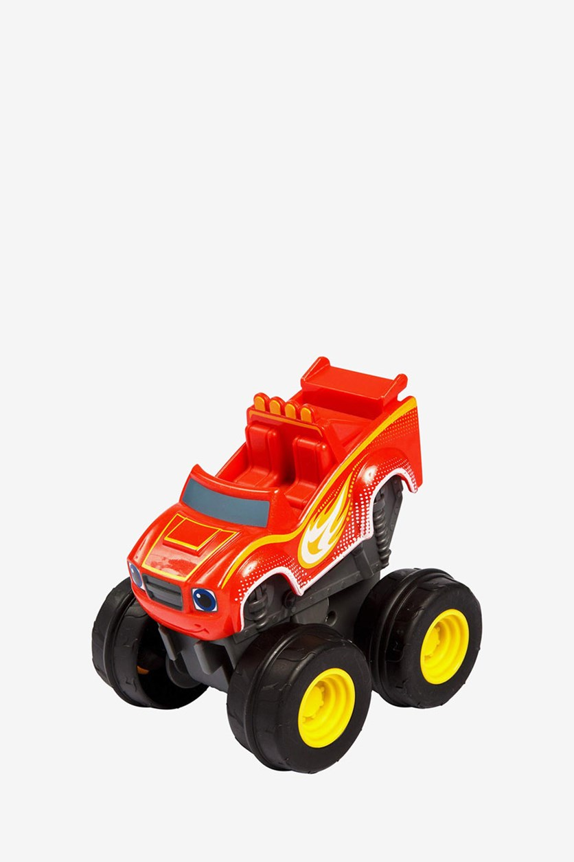 Blaze & the Monster Machines Slam & Go Speed Light Blaze Truck, Red