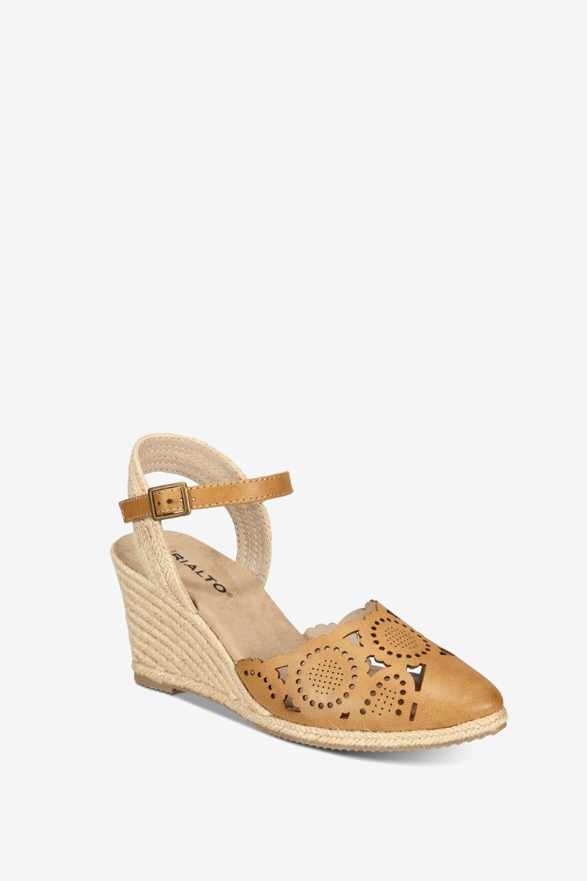 Women's  Coya Espadrille Wedges, Natural/Tan