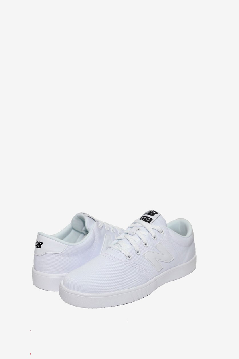 Men's Lace Up Sneaker, White
