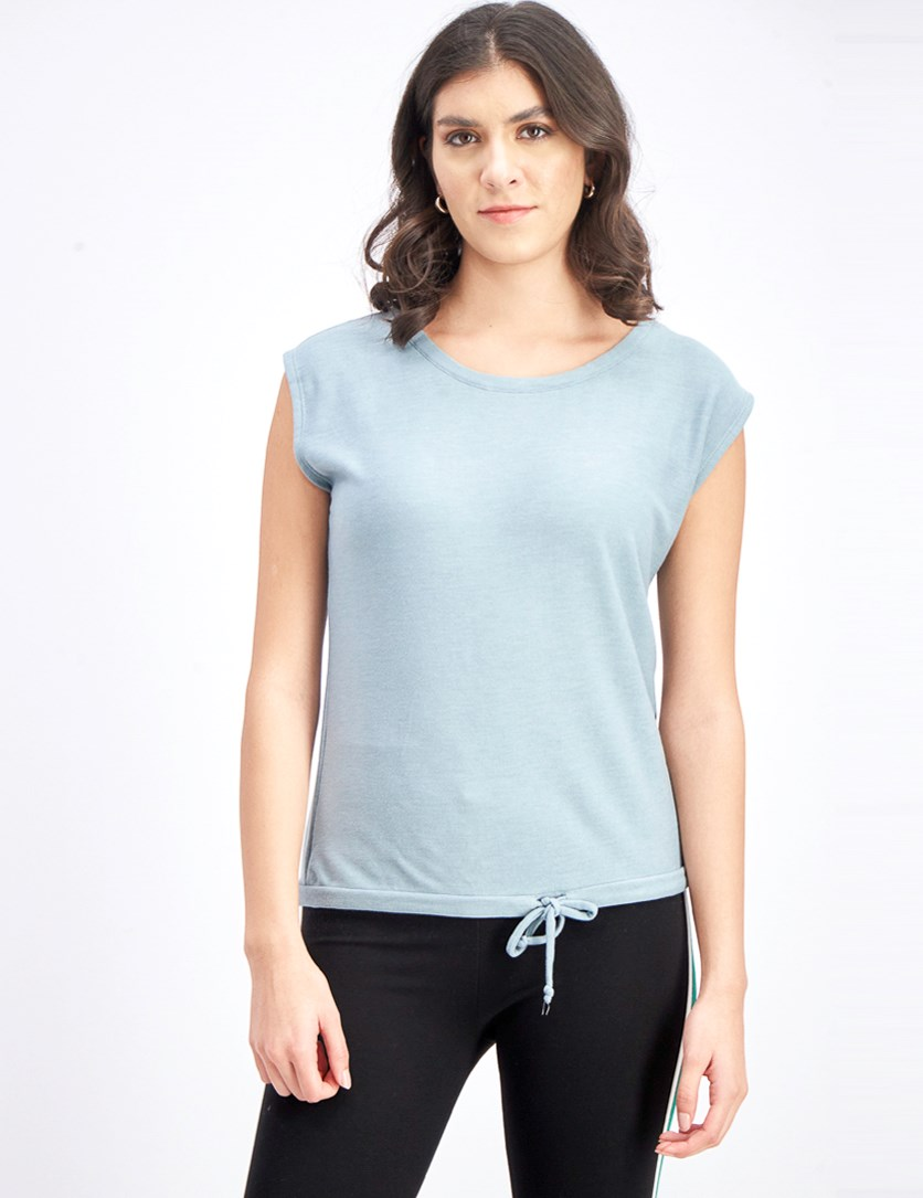 Women's Tops, Light Teal