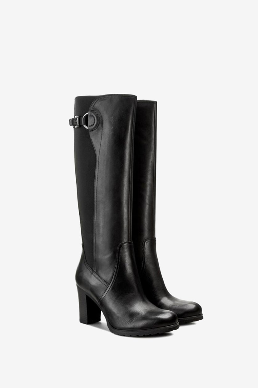 Women's D Trish C Boots, Black