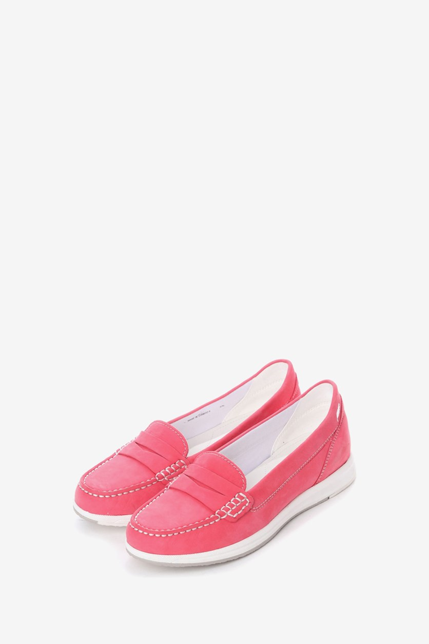 Women's D Avery C Flats, Coral