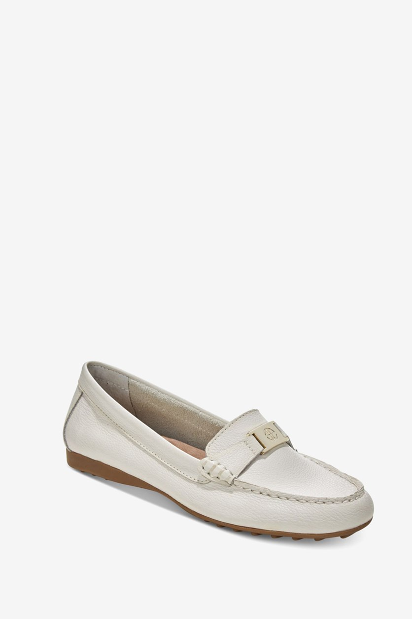 Women's Dailyn Leather Closed Toe, White
