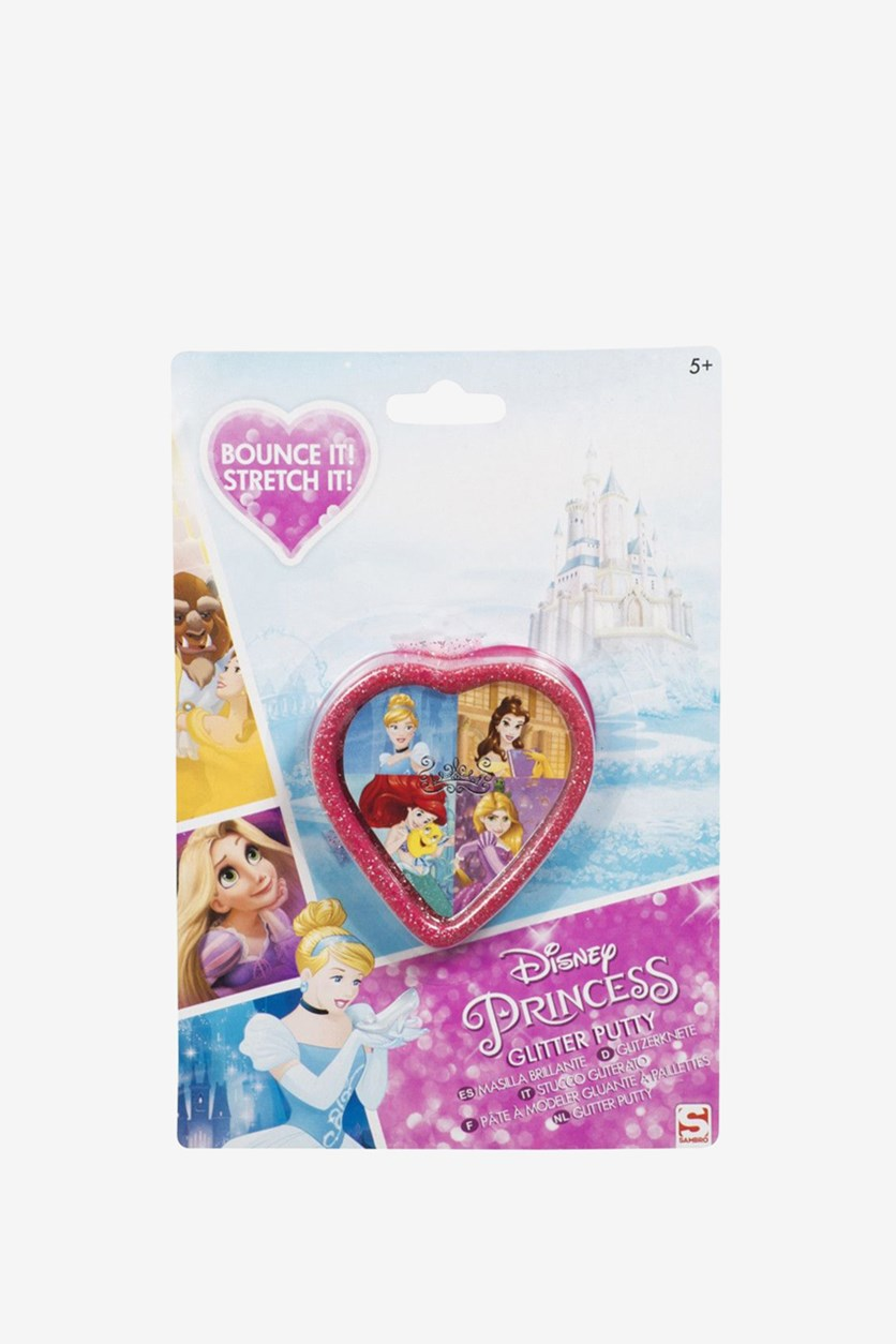 Disney Princess Glitter Putty, Pink