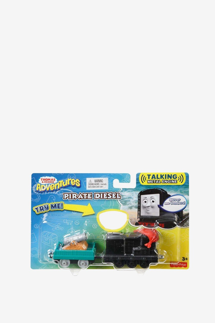 Thomas & Friends Adventures Pirate Diesel, Black/Green