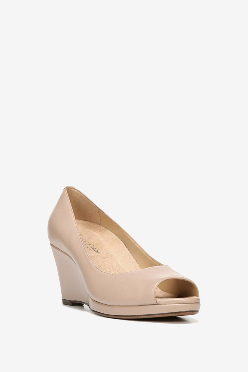 Women's Olivia Wedge, Taupe