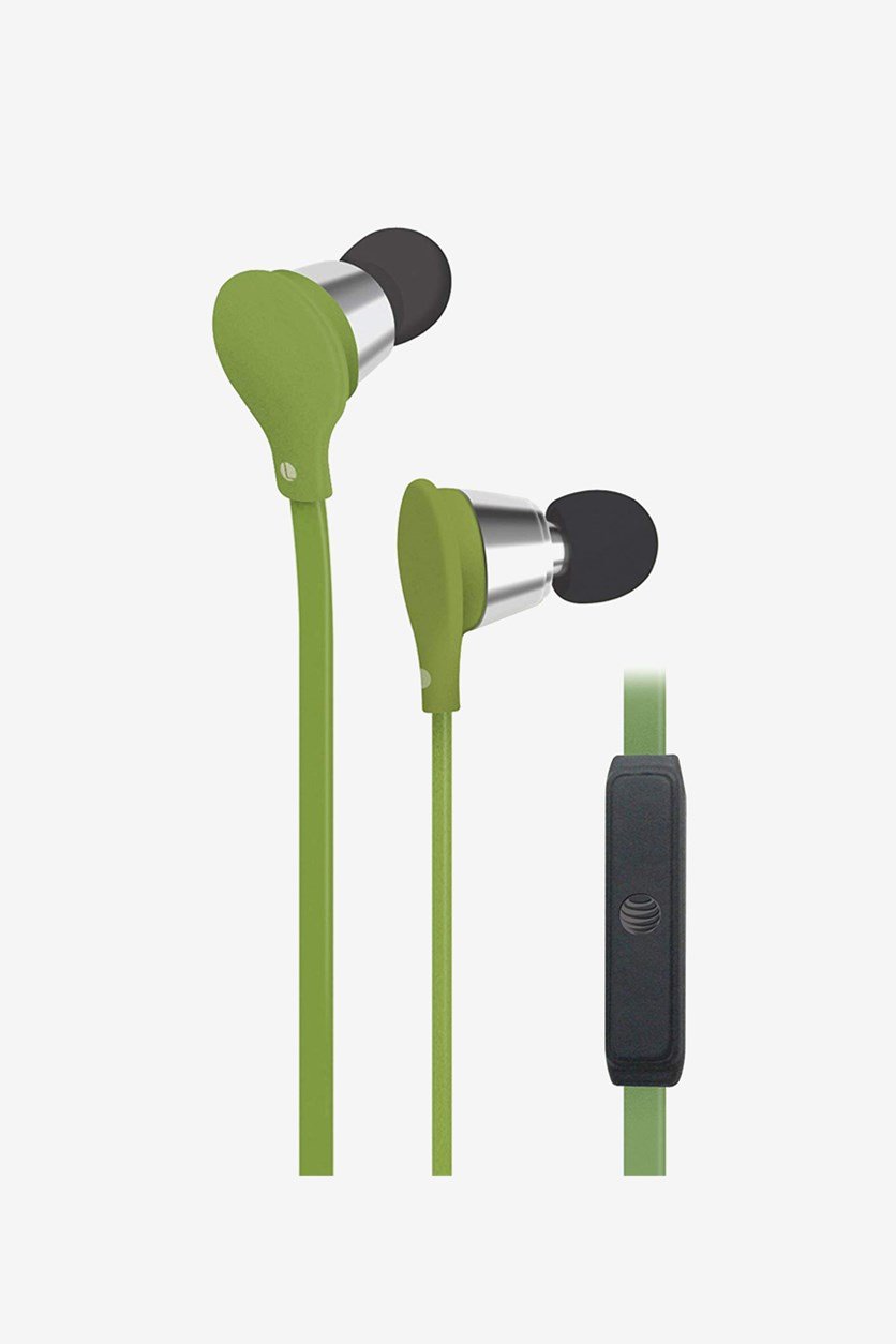 Jive Music + Calls Stereo Headphones, Green