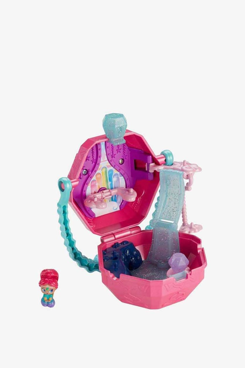 Shimmer & Shine Rainbow Zahramay On-The-Go Playset, Pink/Turquoise