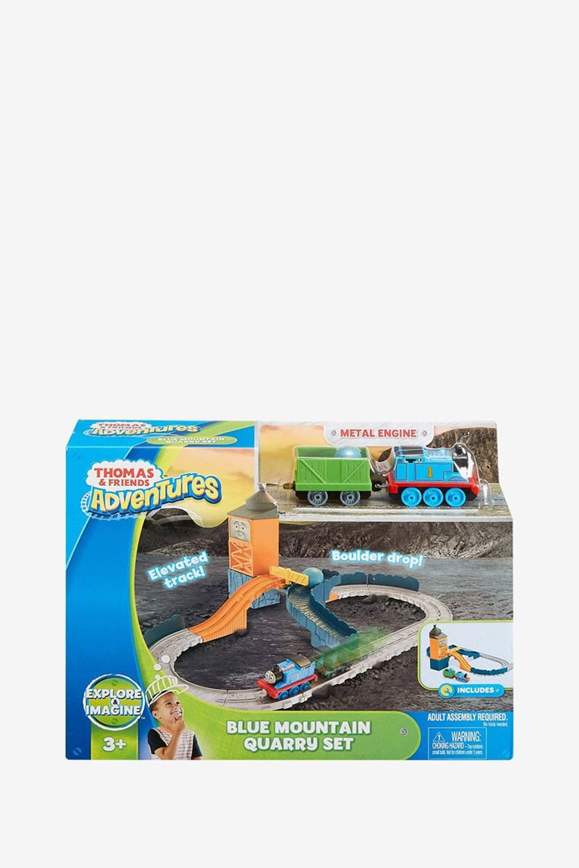 Adventures Blue Mountain Quarry Set Toy, Orange Combo