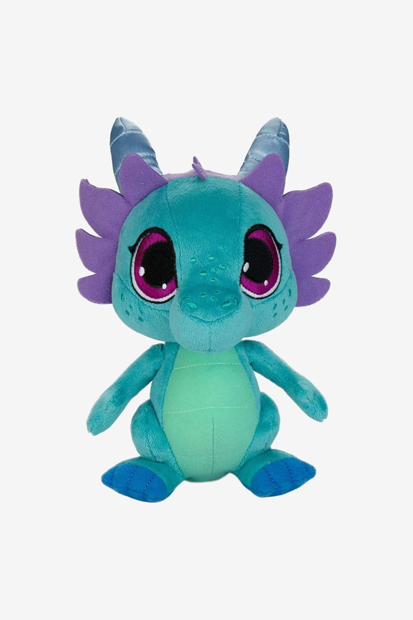Shimmer And Shine Nazboo Soft Plush, Turquoise/Purple