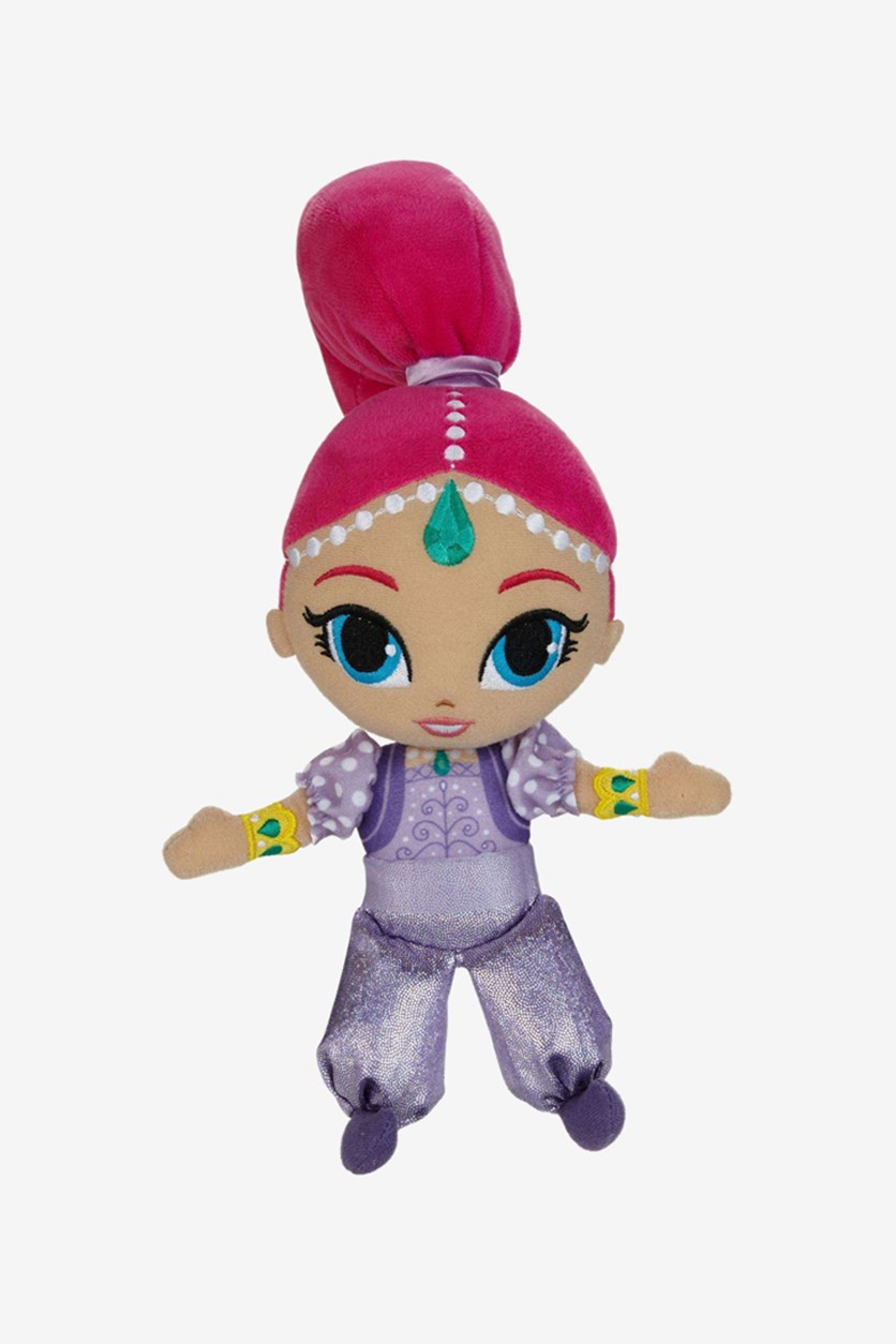 Shimmer And Shine Shimmer Girl Plush Doll, Pink/Purple