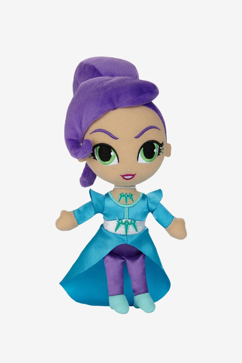 Shimmer And Shine Zeta Plush Doll, Purple/Blue