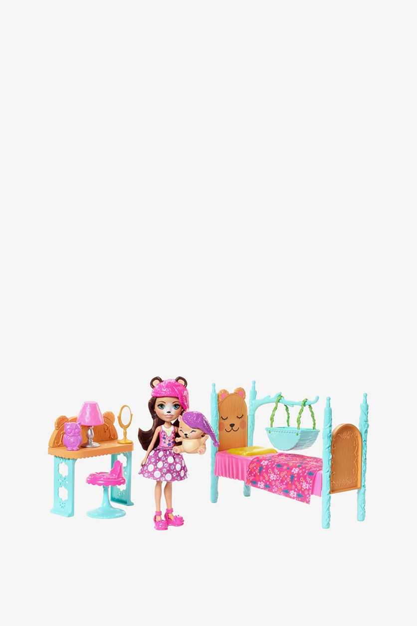 Doll Enchantimals And Bride's Room Game, Pink Combo