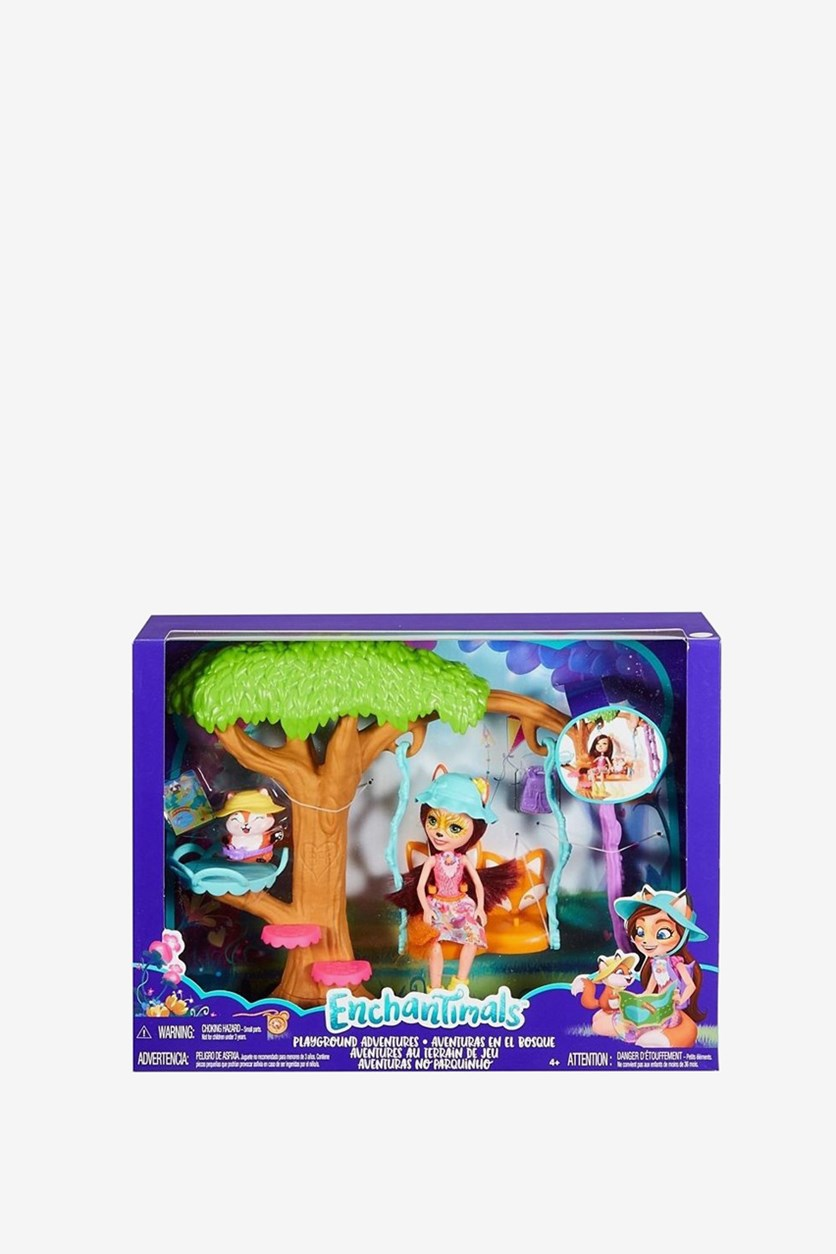 Doll Enchantimals With Playground Adventures, Blue Combo