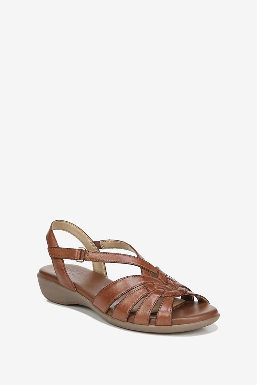 Women's  Neka Strappy Sandal, Saddle