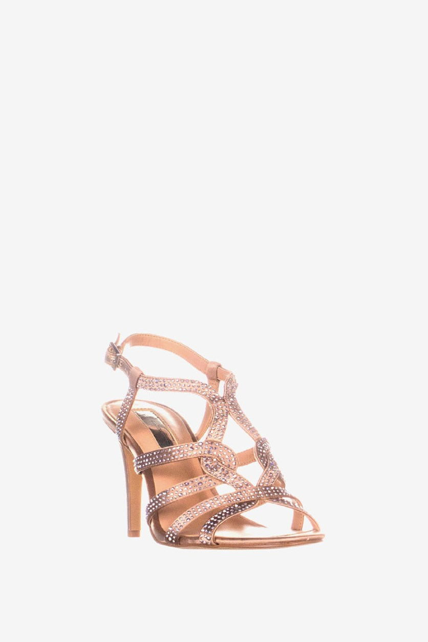 Women's  Randii Strappy Evening Sandals, Bisque