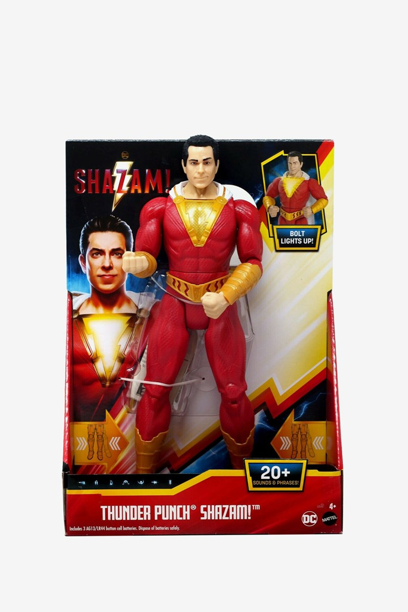 Shazam Movie Action Figure, Red