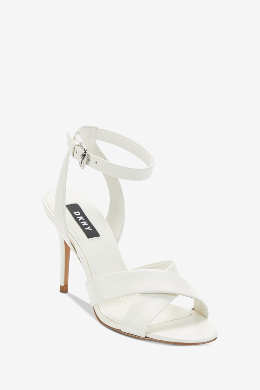 Women's Ivy Ankle Strap Sandals, White