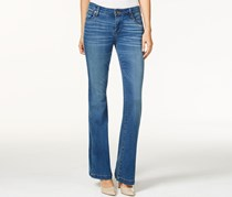 Women's Chrissy  Inclusion Wash Flared Jeans, Blue