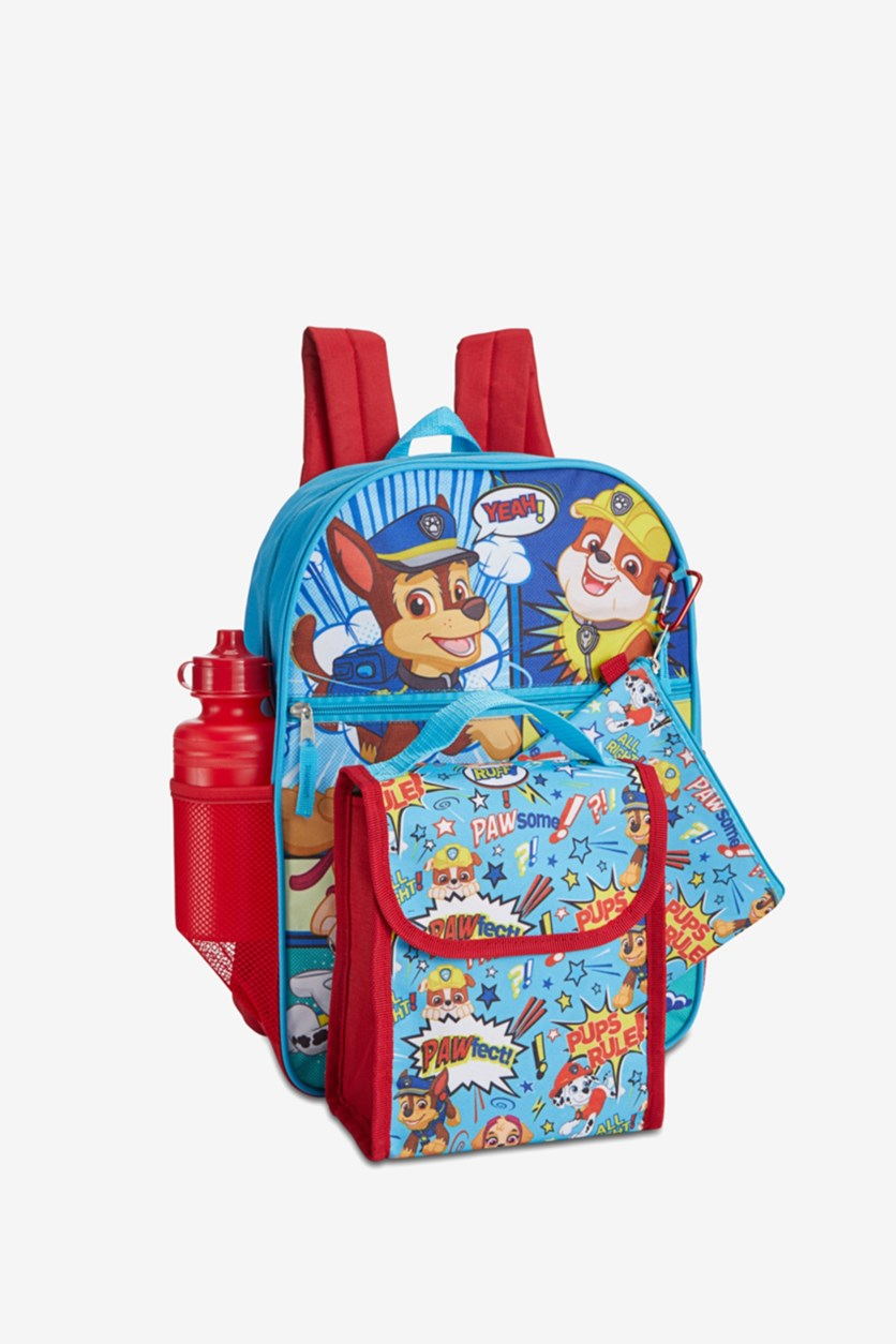 Little and Big Boys 5-Pc. Backpack And Lunchbox Set, Blue