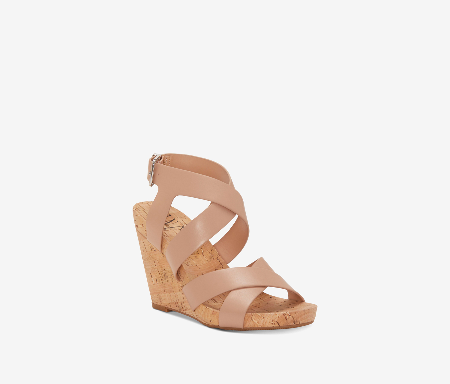 Women's Landor Strappy Wedge Sandals, Blush