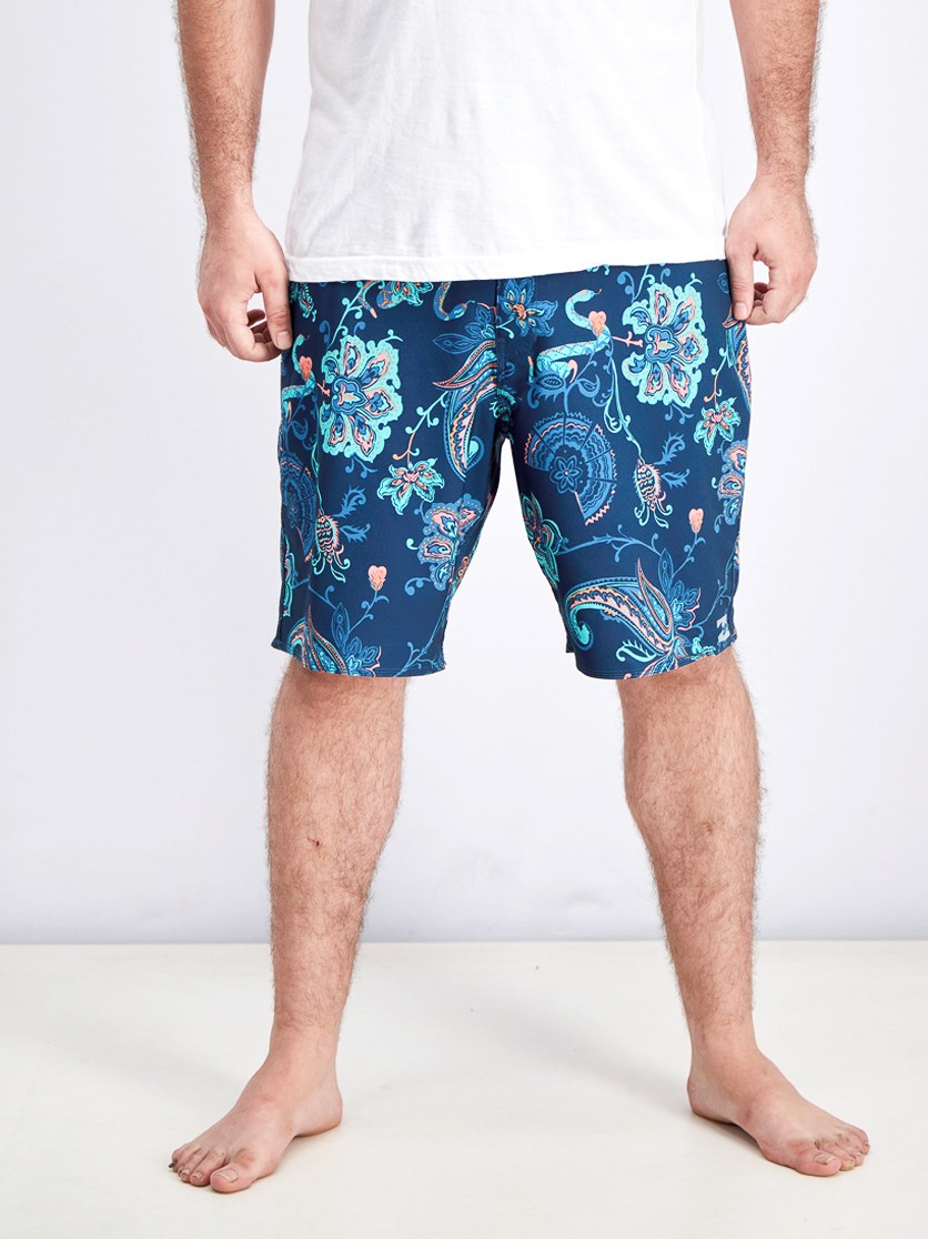 Men's Sundays X Board Shorts, Blue