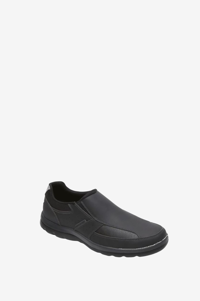 Men's Gyk Slip On Shoes, Black