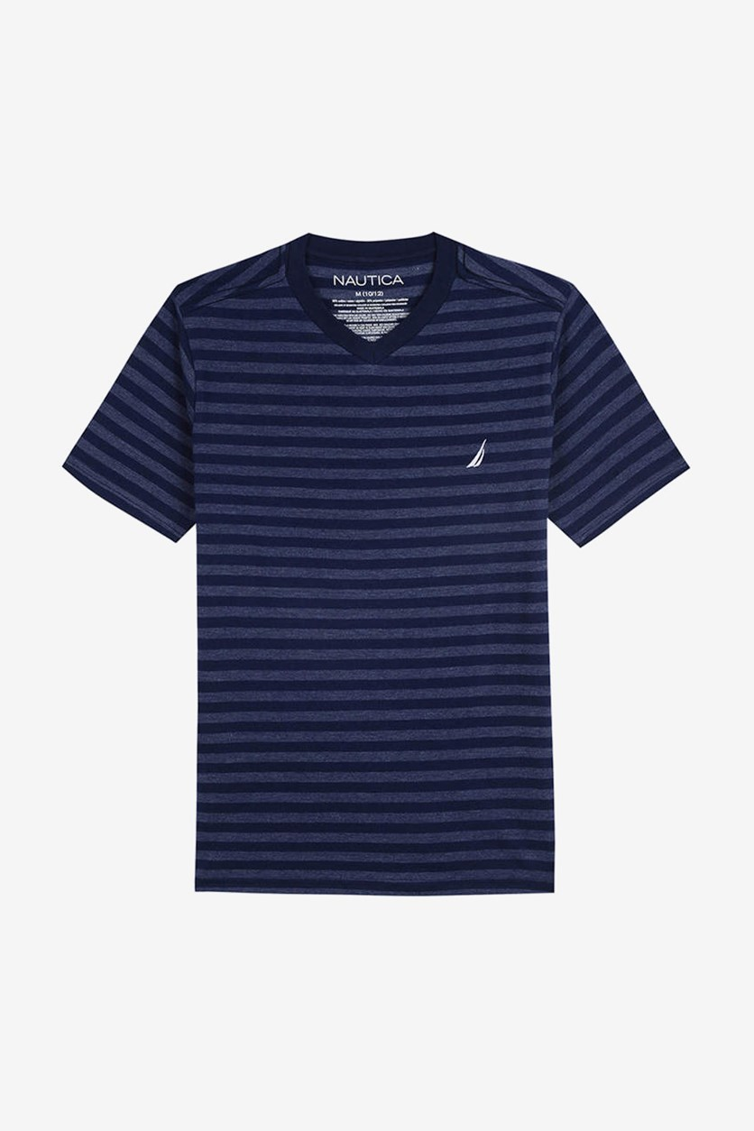 Toddler Finn Stripe T-Shirt, Navy