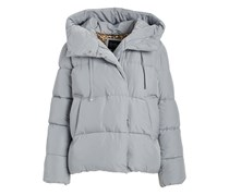 Women's Quilted Hi-Low Puffer Jacket,  Ice Gray