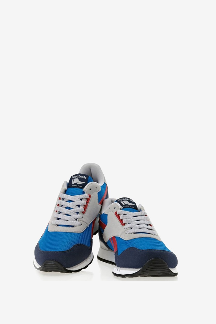 Men's Royal Sprint Shoes, Navy/Blue/Red/White