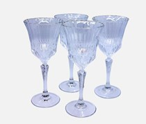 4 Goblet Glass, Transparent
