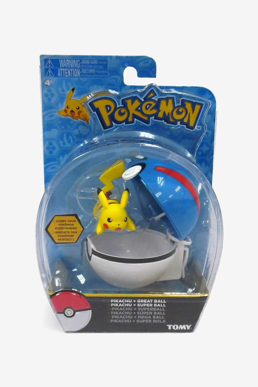Clip And Carry Pokemon, Blue/Yellow