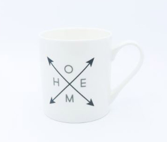 Home Coffee Mugs, White