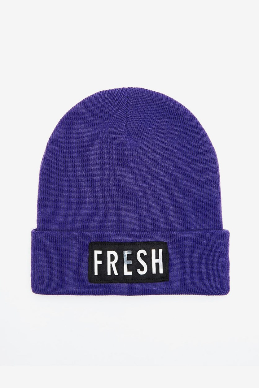Women's Fresh Beanie, Purple