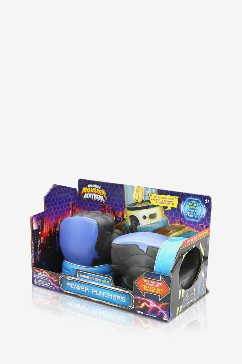 Massive Monster Mayhem Dome Diddy Dome Power Punchers, Charcoal/Blue