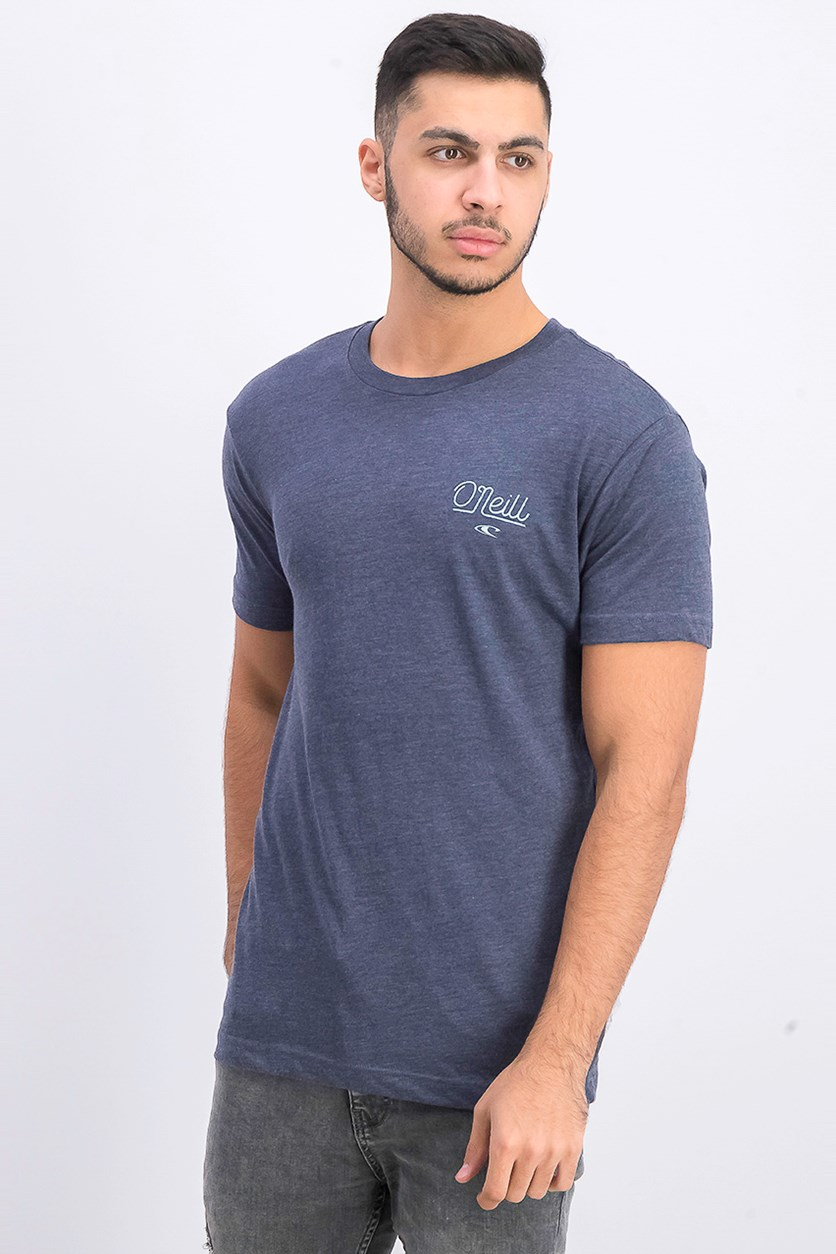Men's Plain Modern Fit T-Shirt, Navy Blue