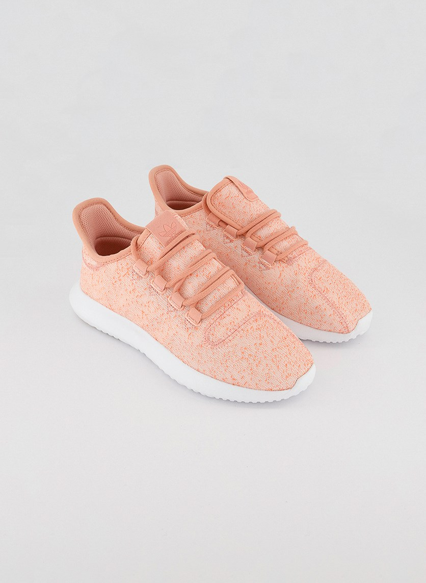Women's Tubular Shadow Sports Shoes, Ice Pink/White