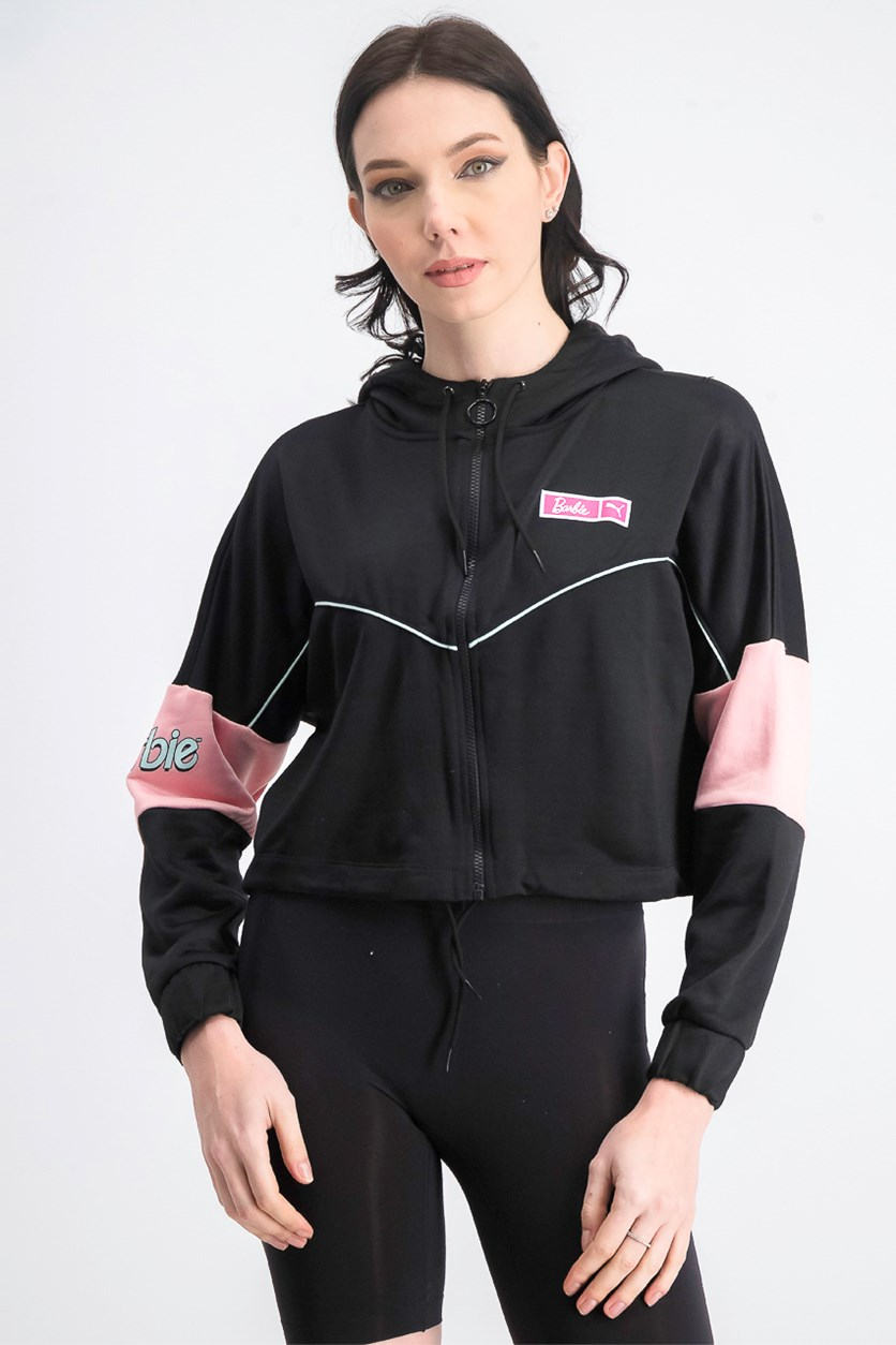 Women's Barbie Xtg Track Jacket, Black