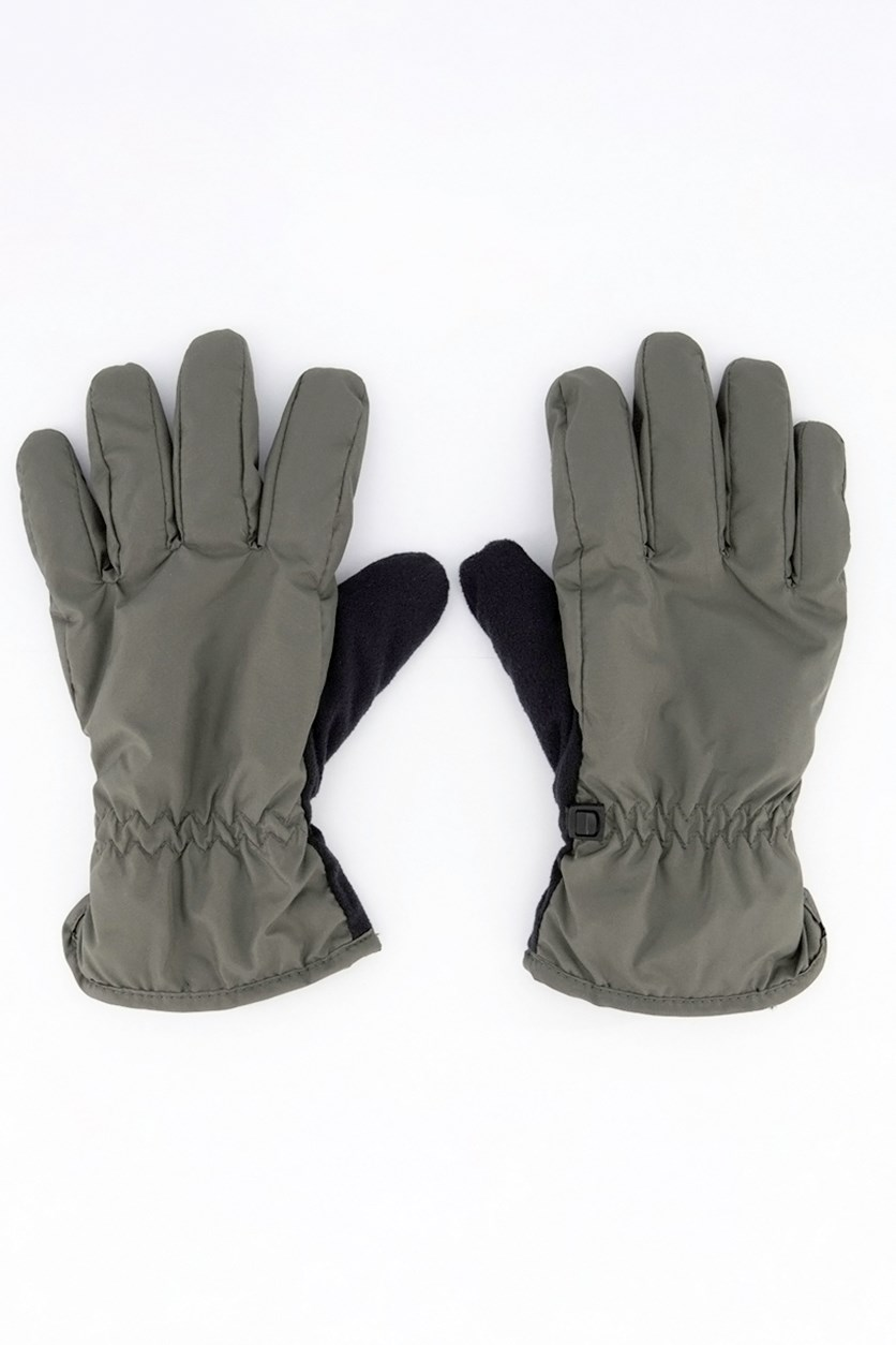Men's Smart Gloves, Dark Gray