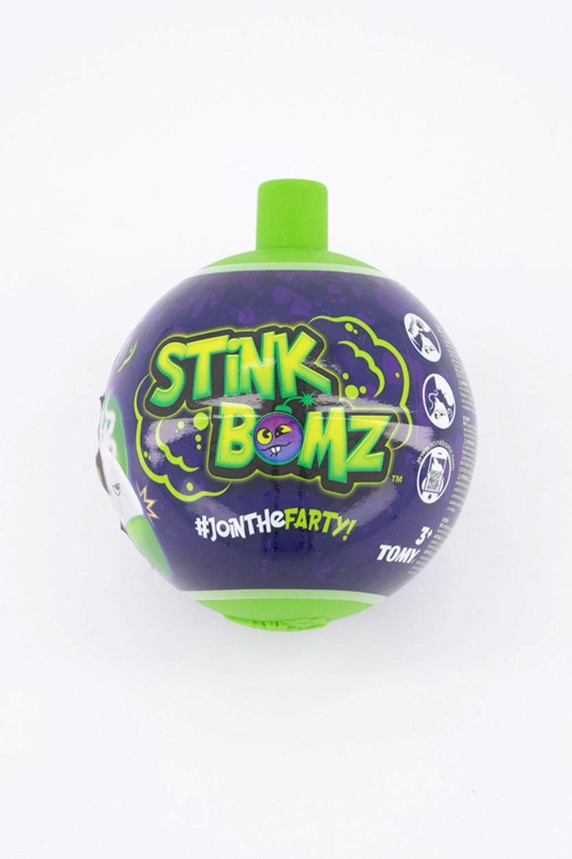 Assorted Stink Bombz Plush Toy, Green