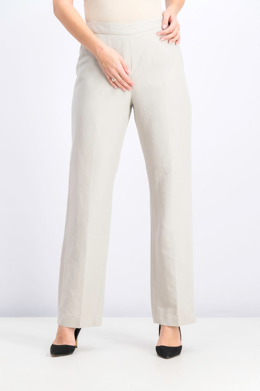 Women's Classic Pants, Pebble