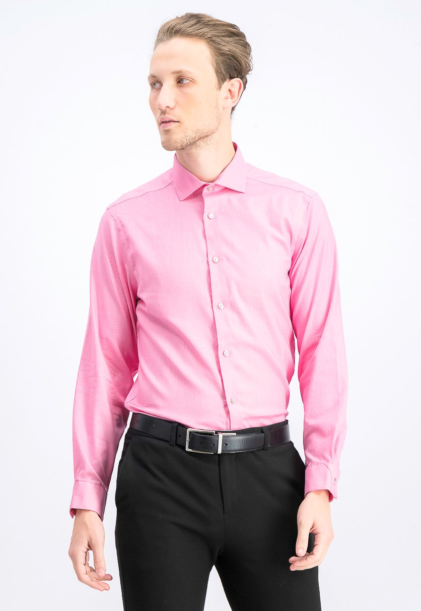 Men's  Antibes Slim Fit Dress Shirt, Pink
