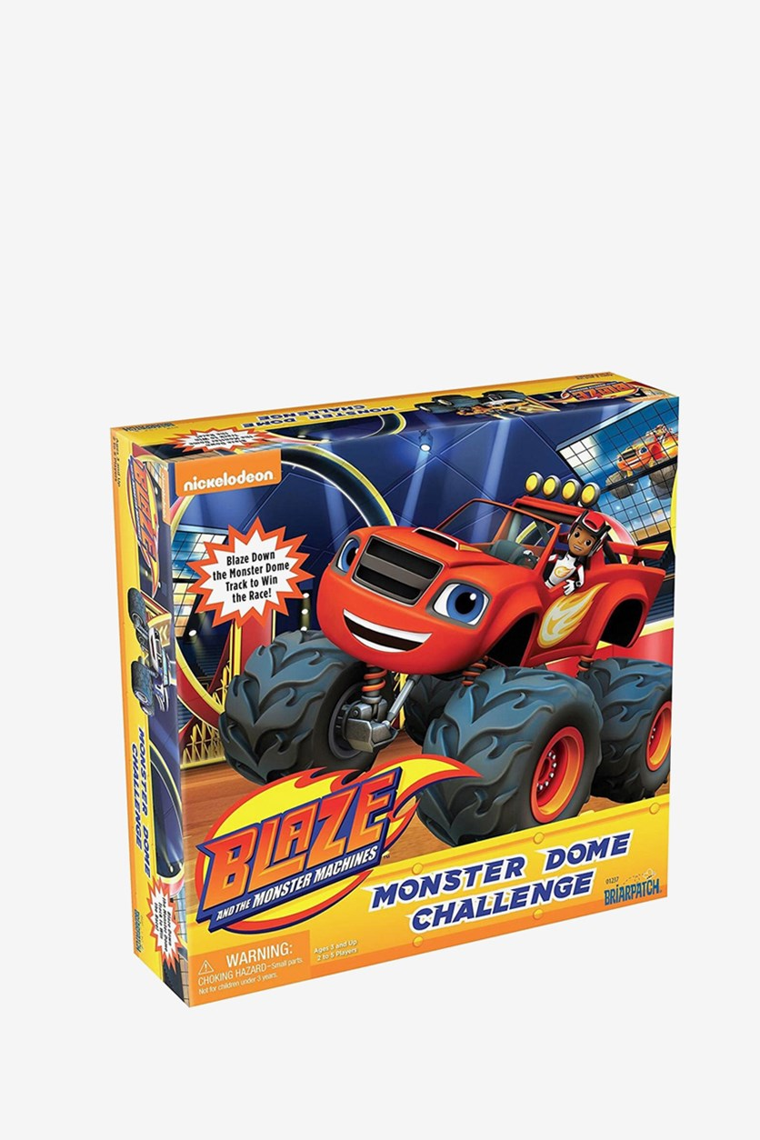 Monster Machines Monster Dome Challenge Game, Red/Yellow