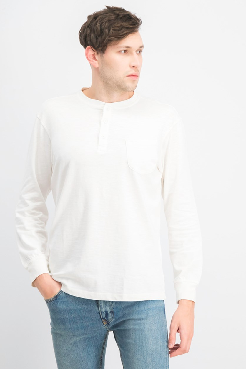 Men's Pullover Sweater, White
