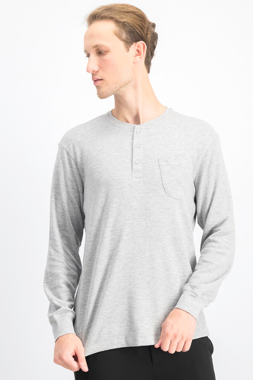 Men's Pullover Sweater, Gray