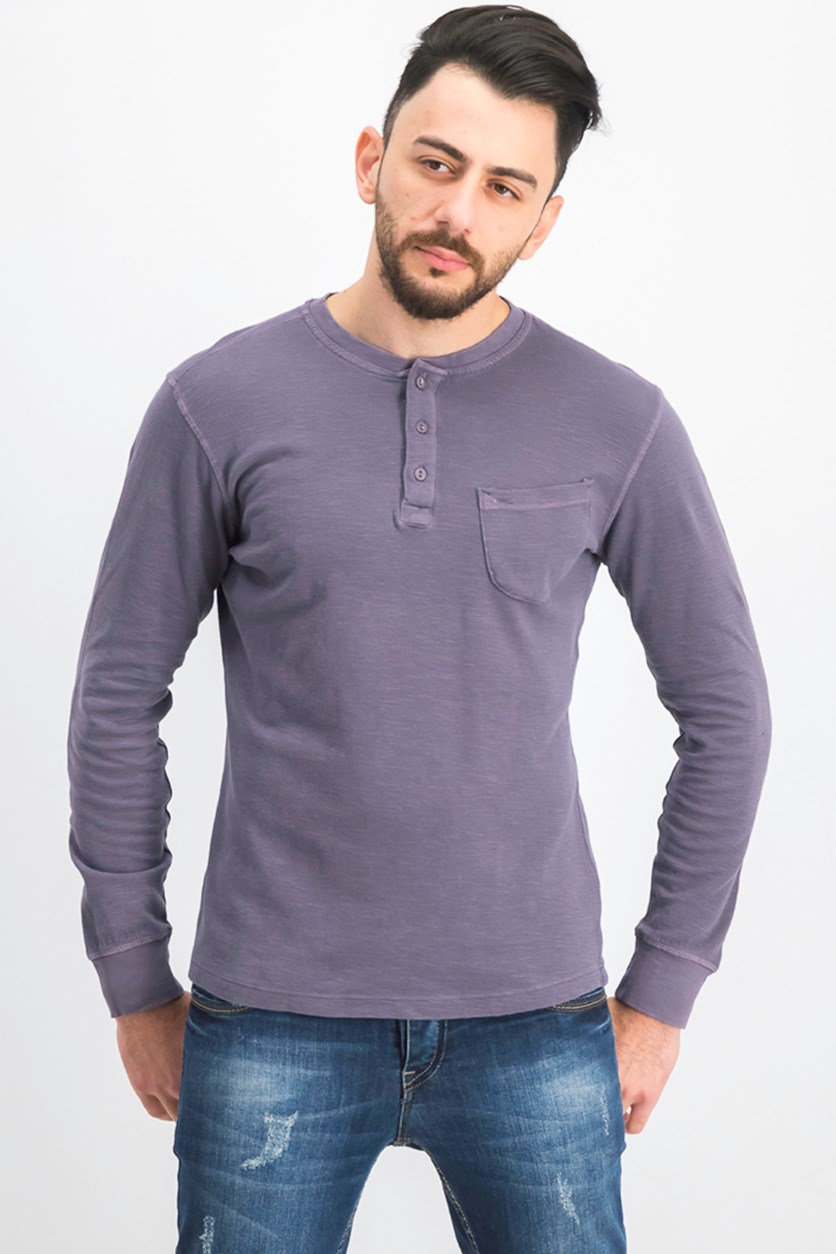 Men's Pullover Sweater, Sweet Grape