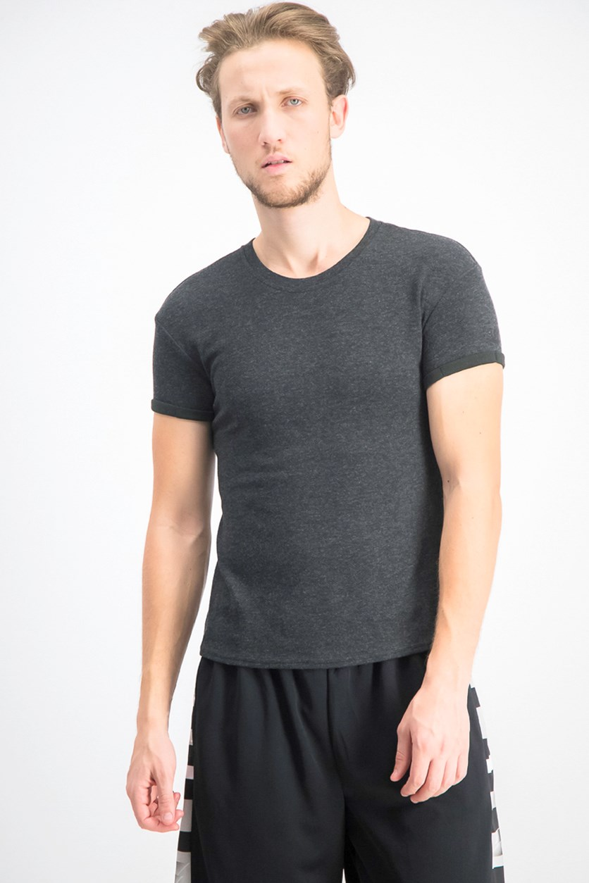 Men's Heather T-shirt, Black